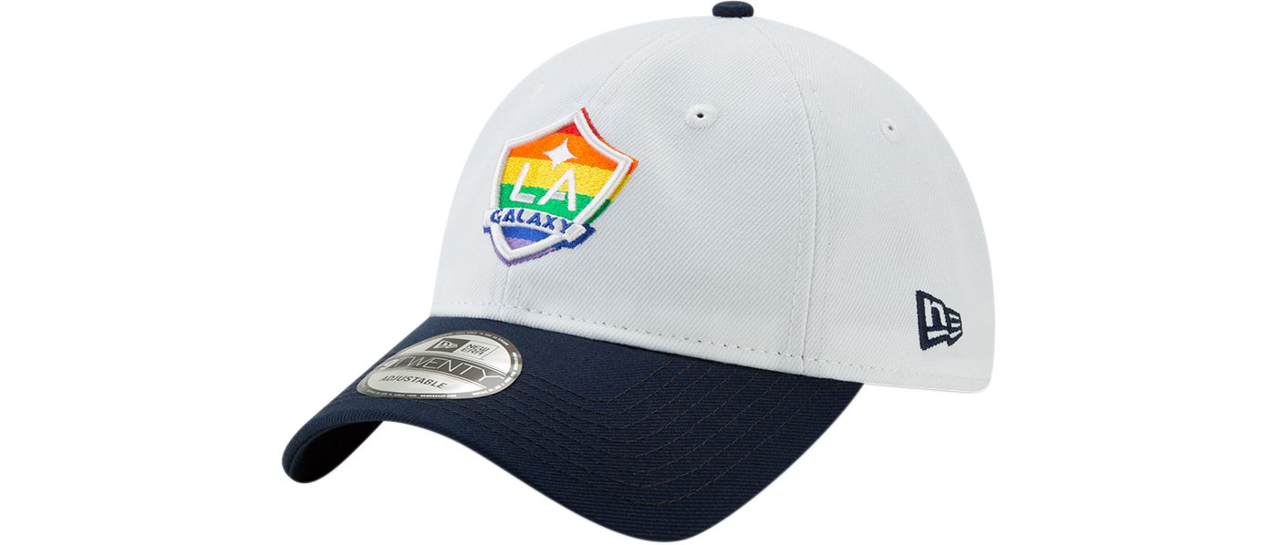 New Era Men's Los Angeles Galaxy Pride 9Twenty Adjustable Hat