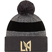 MLS Men's Los Angeles FC Pom Knit Beanie