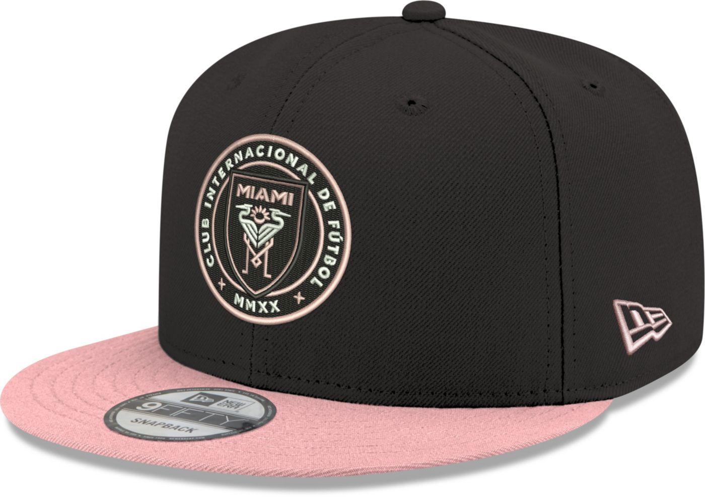 New Era Men's Inter Miami CF 9Fifty Adjustable Snapback Hat