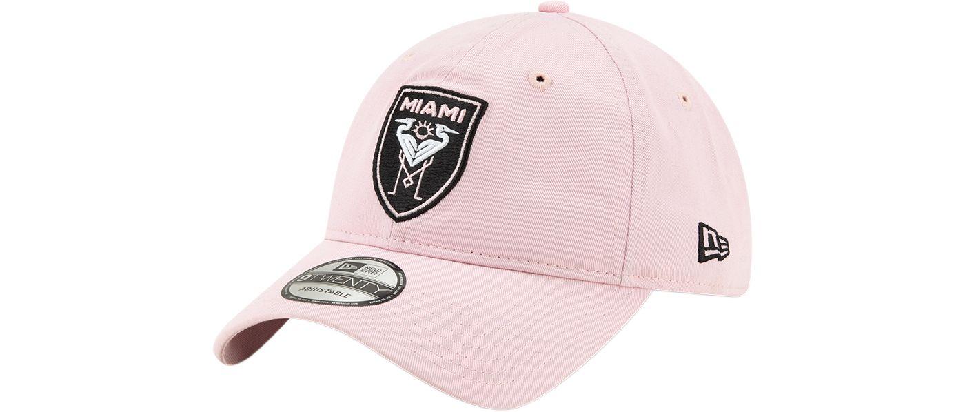New Era Men's Inter Miami CF 9Twenty Pink Adjustable Hat
