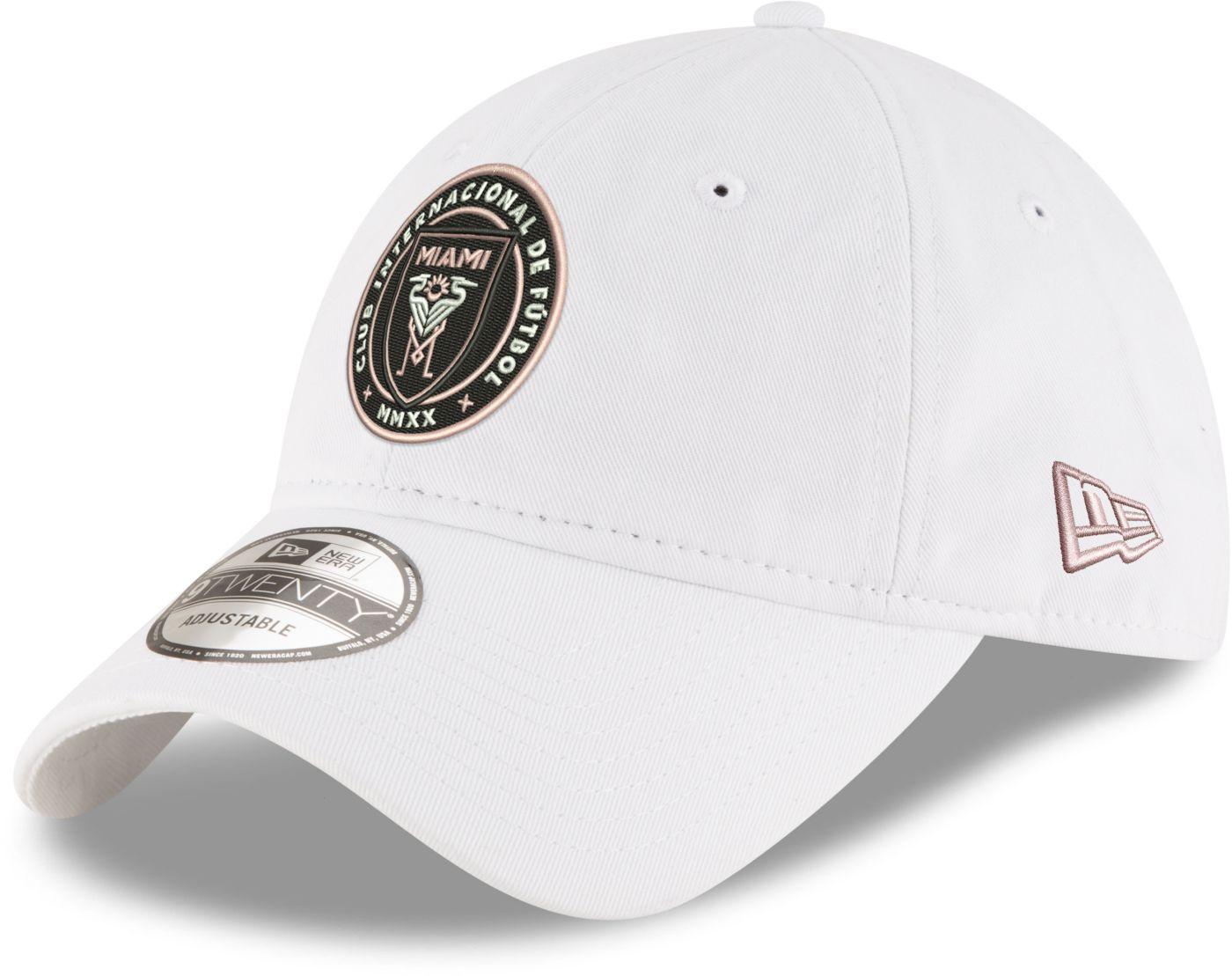 New Era Men's Inter Miami CF Pride 9Twenty Adjustable Hat