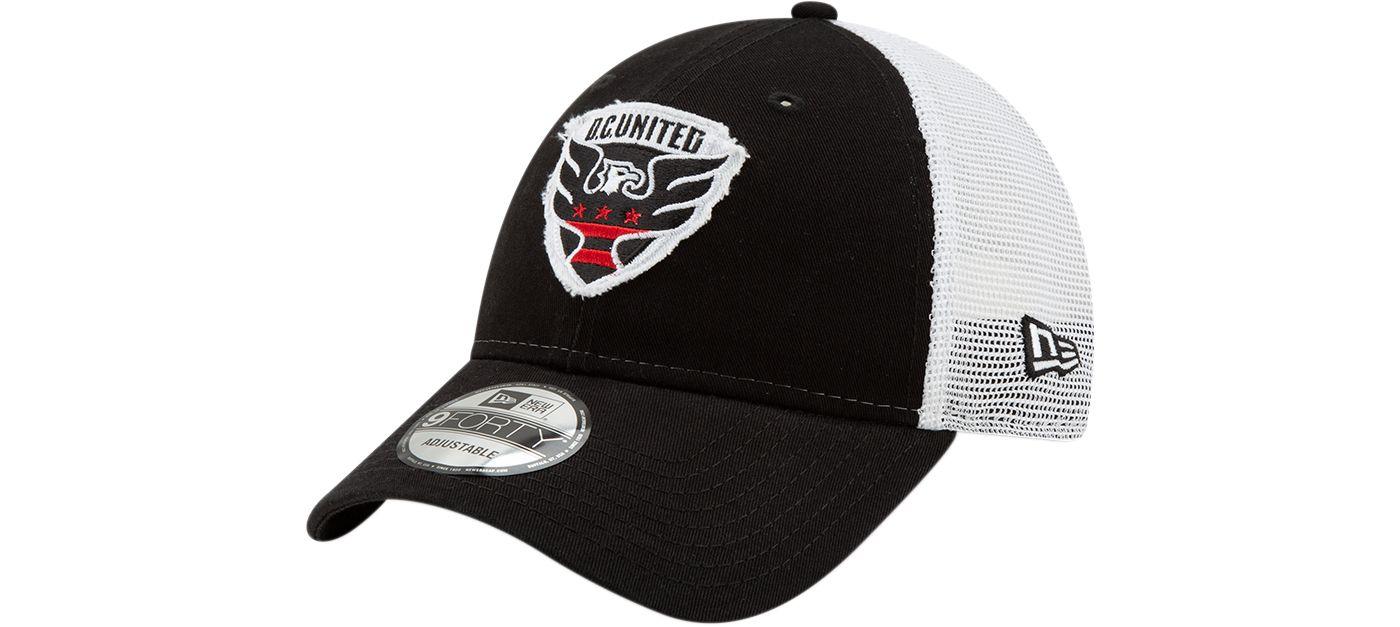 New Era Men's D.C. United 9Forty Trucker Adjustable Hat