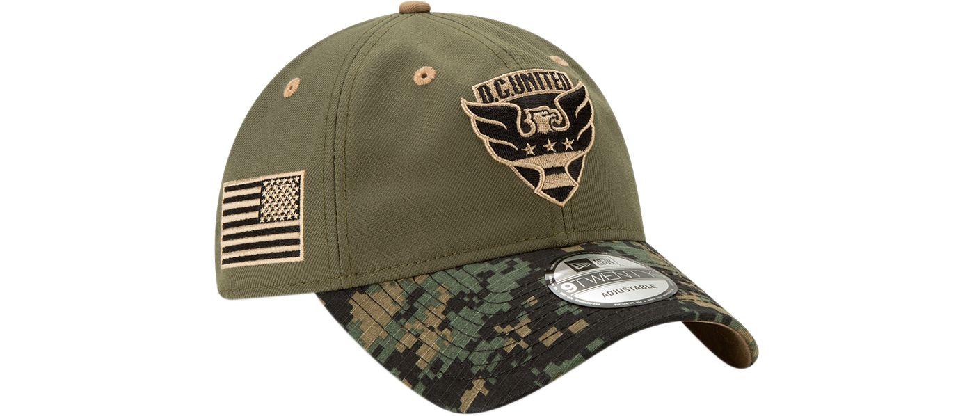 New Era Men's D.C. United Military Appreciation 9Twenty Adjustable Hat