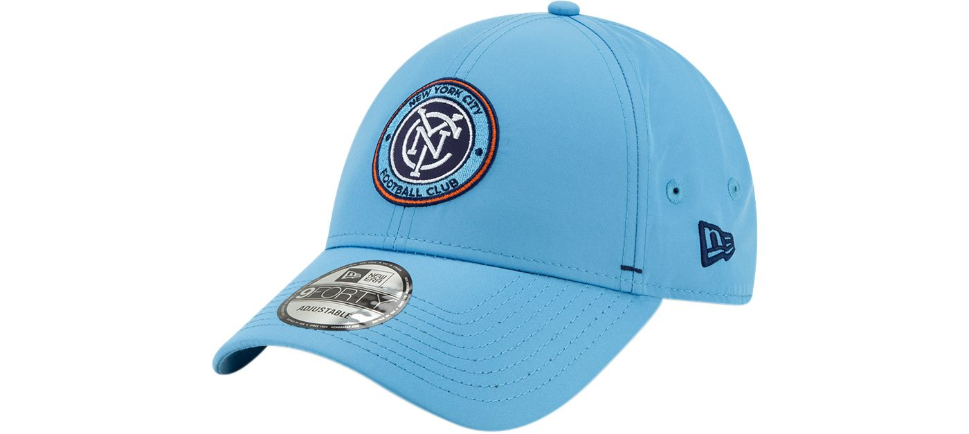 New Era Men's New York City FC 9Forty Dash Adjustable Hat