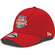 New Era Men's New York Red Bulls 39Thirty Stretch Fit Hat