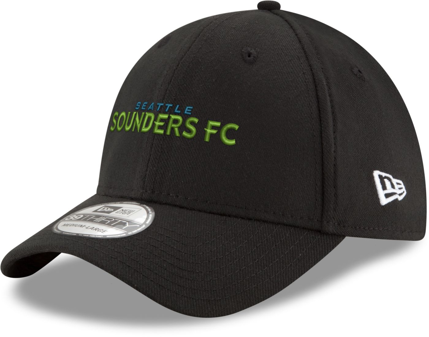 New Era Men's Seattle Sounders 39Thirty Stretch Fit Hat