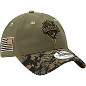 New Era Men's Seattle Sounders Military Appreciation 9Twenty Adjustable Hat