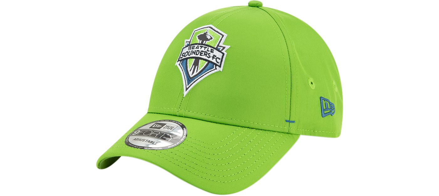 New Era Men's Seattle Sounders 9Forty Dash Adjustable Hat