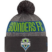 MLS Men's Seattle Sounders Pom Knit Beanie