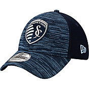New Era Men's Sporting Kansas City Classic 39Thirty On Field Stretch Fit Hat