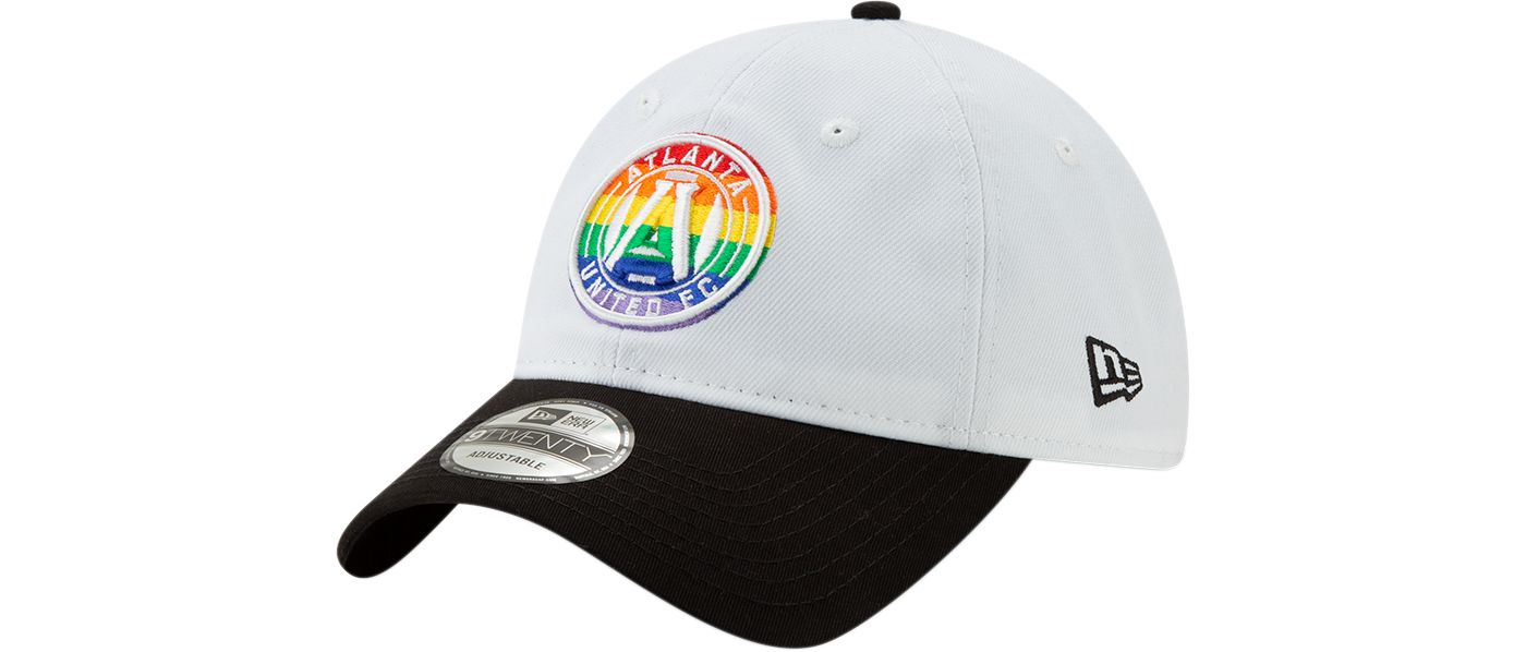 New Era Men's Atlanta United Pride 9Twenty Adjustable Hat