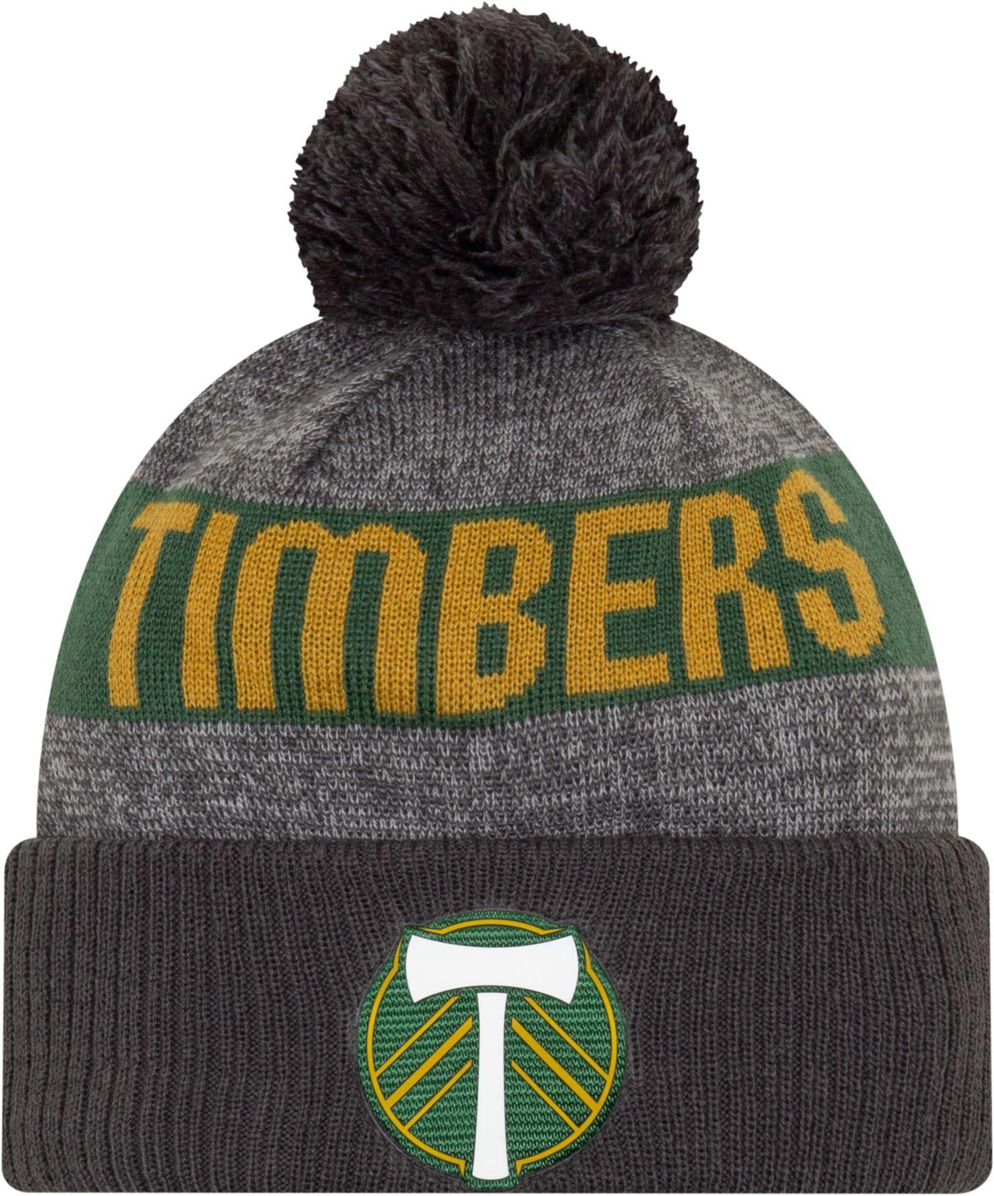 MLS Men's Portland Timbers Pom Knit Beanie