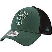 New Era Men's Milwaukee Bucks 39Thirty Stretch Fit Hat