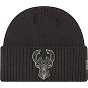 New Era Men's Milwaukee Bucks Core Classic Knit Hat