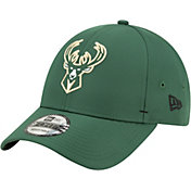 New Era Men's Milwaukee Bucks 9Forty Adjustable Hat