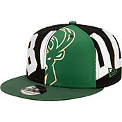 New Era Men's Milwaukee Bucks 9Fifty Adjustable Snapback Hat