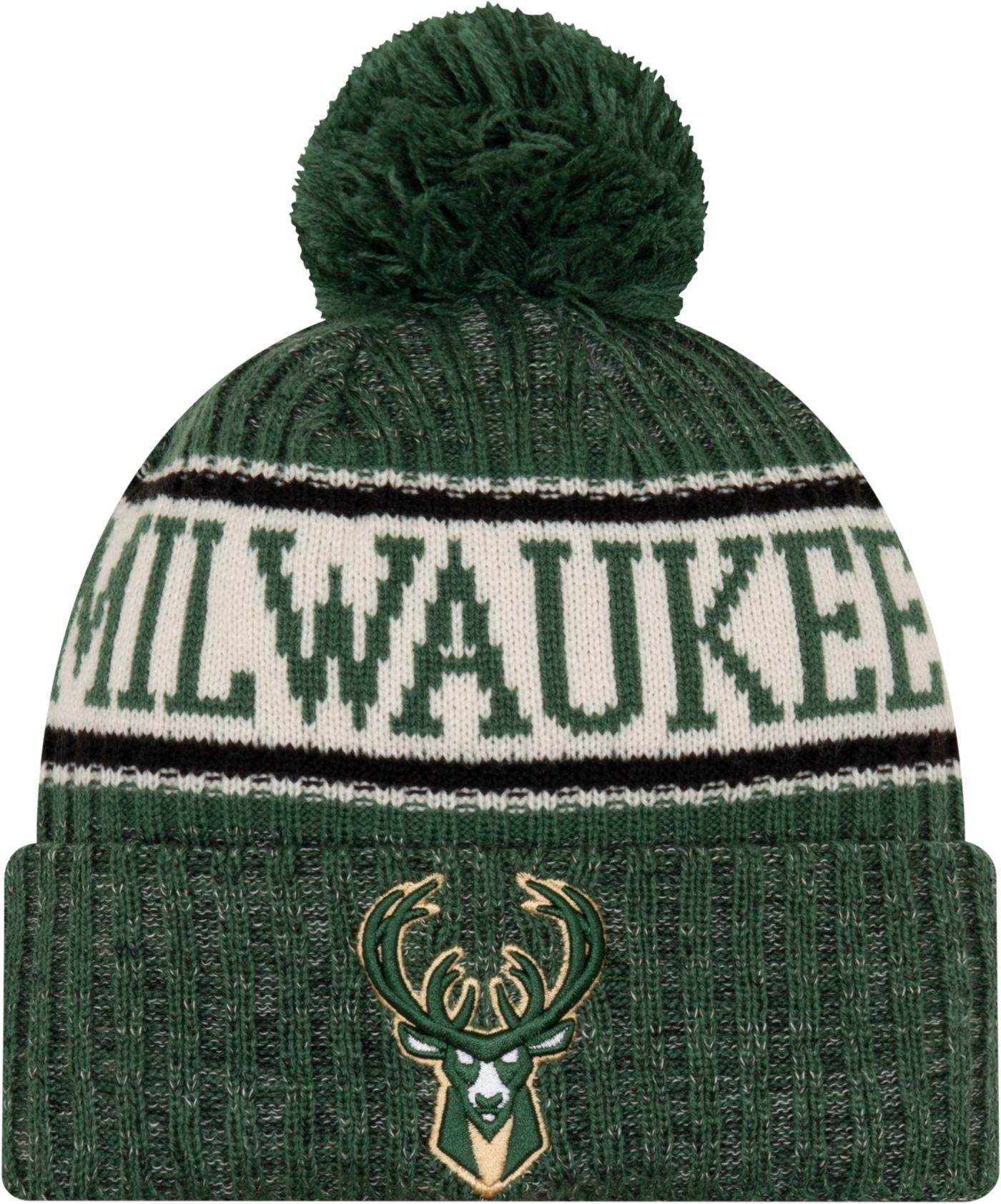 New Era Men's Milwaukee Bucks Sports Knit Hat