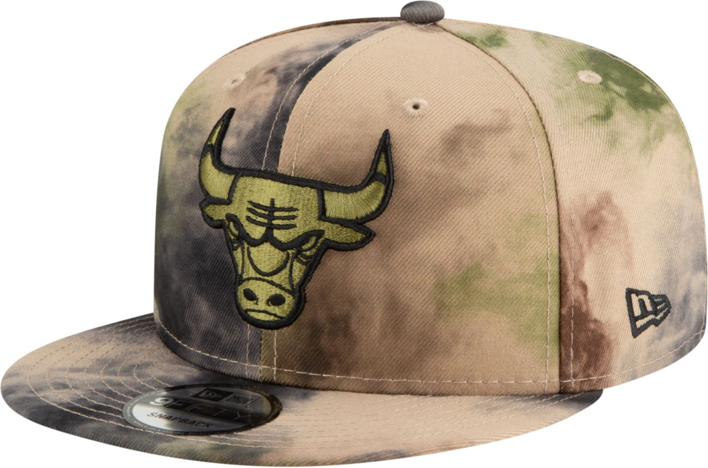 New Era Men's Chicago Bulls 9Fifty Camo Adjustable Snapback Hat