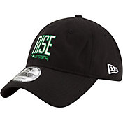 "New Era Men's Boston Celtics 9Twenty ""Rise Together"" Black Adjustable Hat"