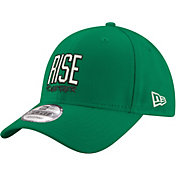 "New Era Men's Boston Celtics 9Forty ""Rise Together"" Kelly Green Adjustable Hat"