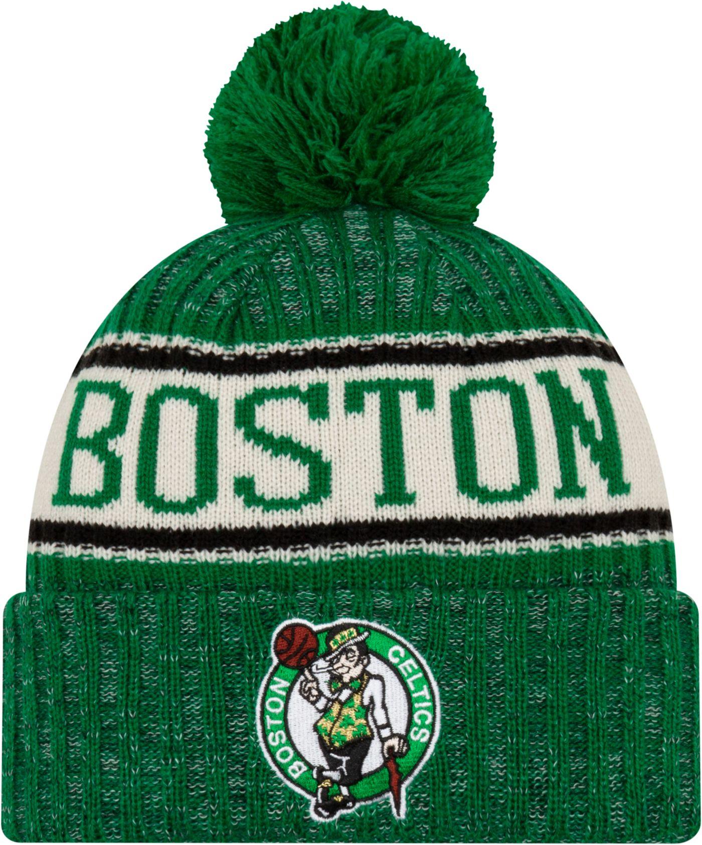 New Era Men's Boston Celtics Sports Knit Hat