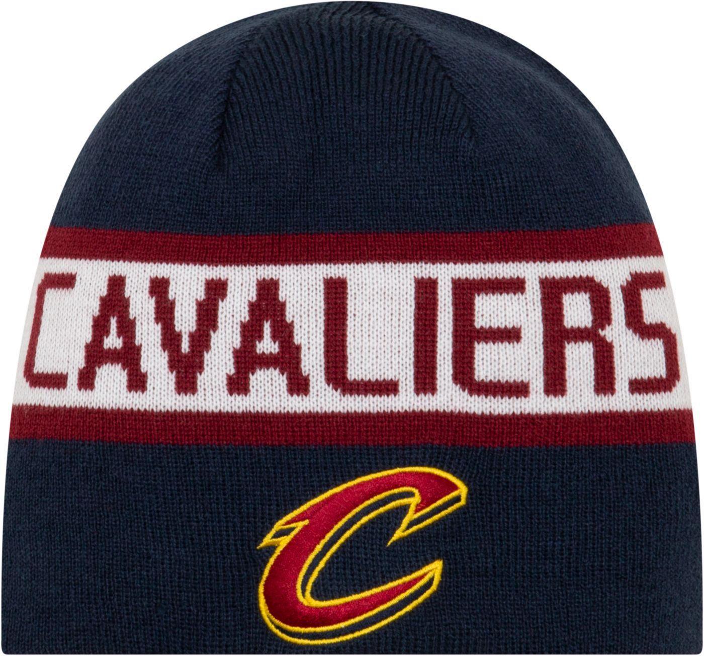 New Era Men's Cleveland Cavaliers Reversible Sports Knit Hat