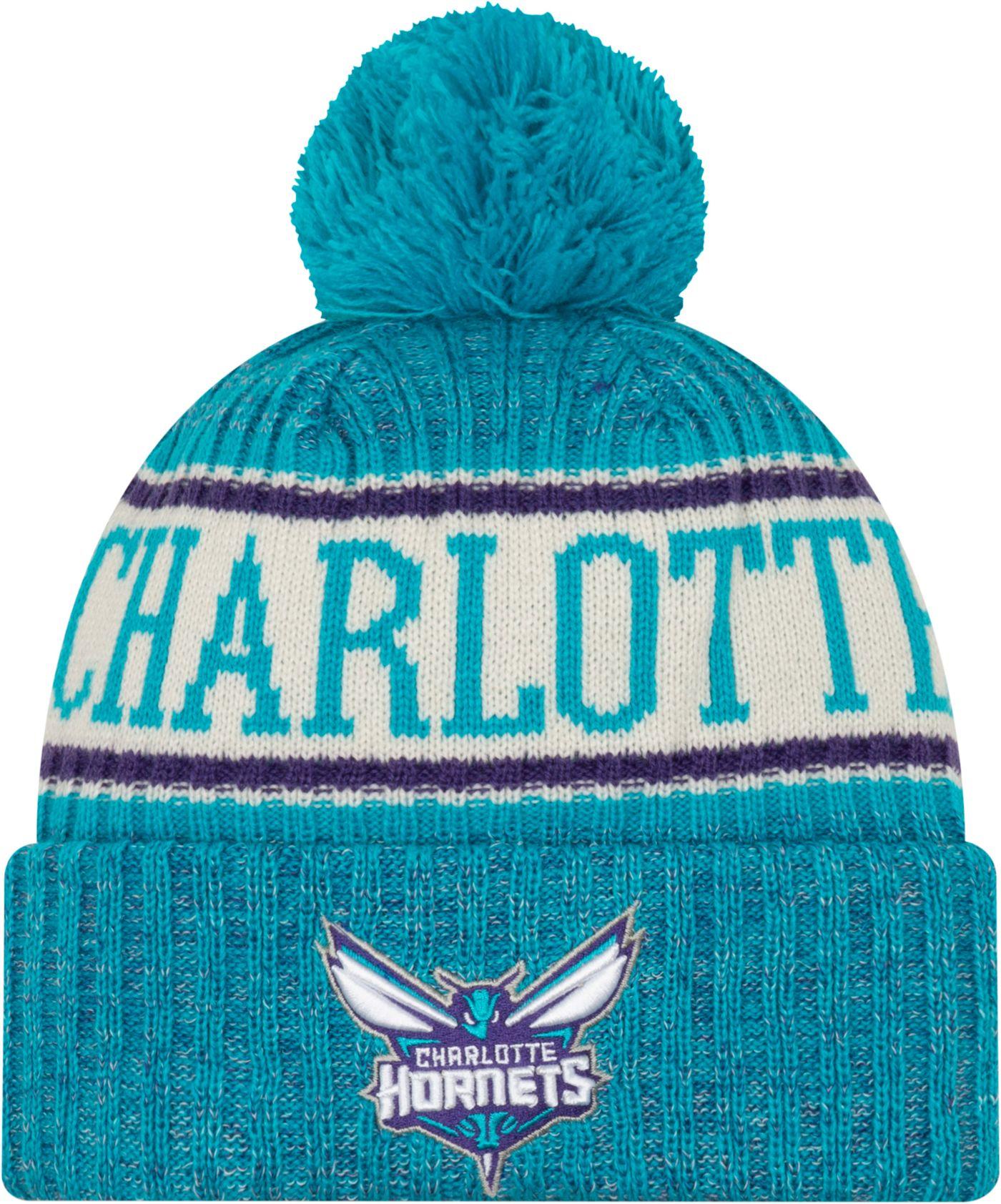 New Era Men's Charlotte Hornets Sports Knit Hat