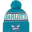 New Era Youth Charlotte Hornets Sports Knit Hat
