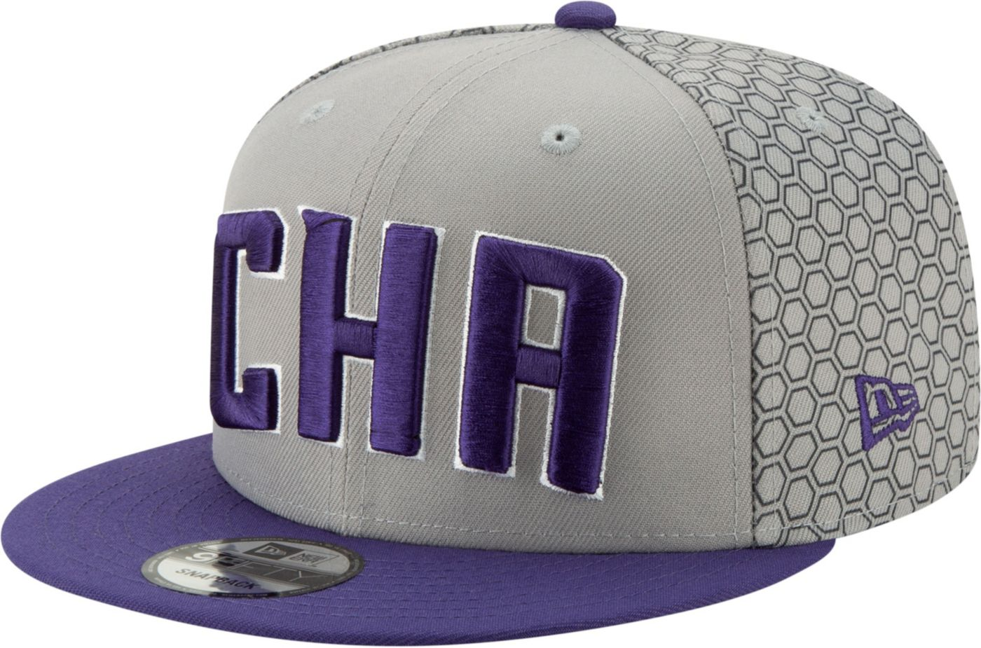 New Era Men's Charlotte Hornets 9Fifty City Edition Adjustable Snapback Hat