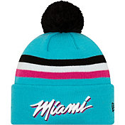 New Era Men's Miami Heat City Edition Knit Hat