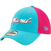 New Era Men's Miami Heat 39Thirty City Edition Stretch Fit Hat