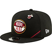 New Era Men's Miami Heat 2019 NBA Draft 9Fifty Adjustable Snapback Hat