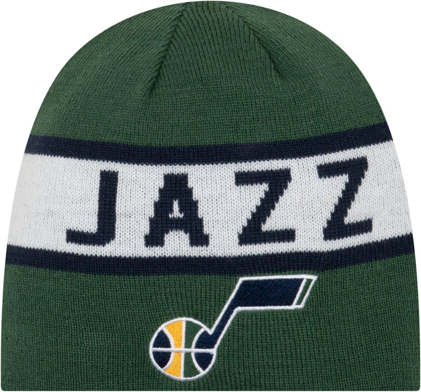 New Era Men's Utah Jazz Reversible Sports Knit Hat