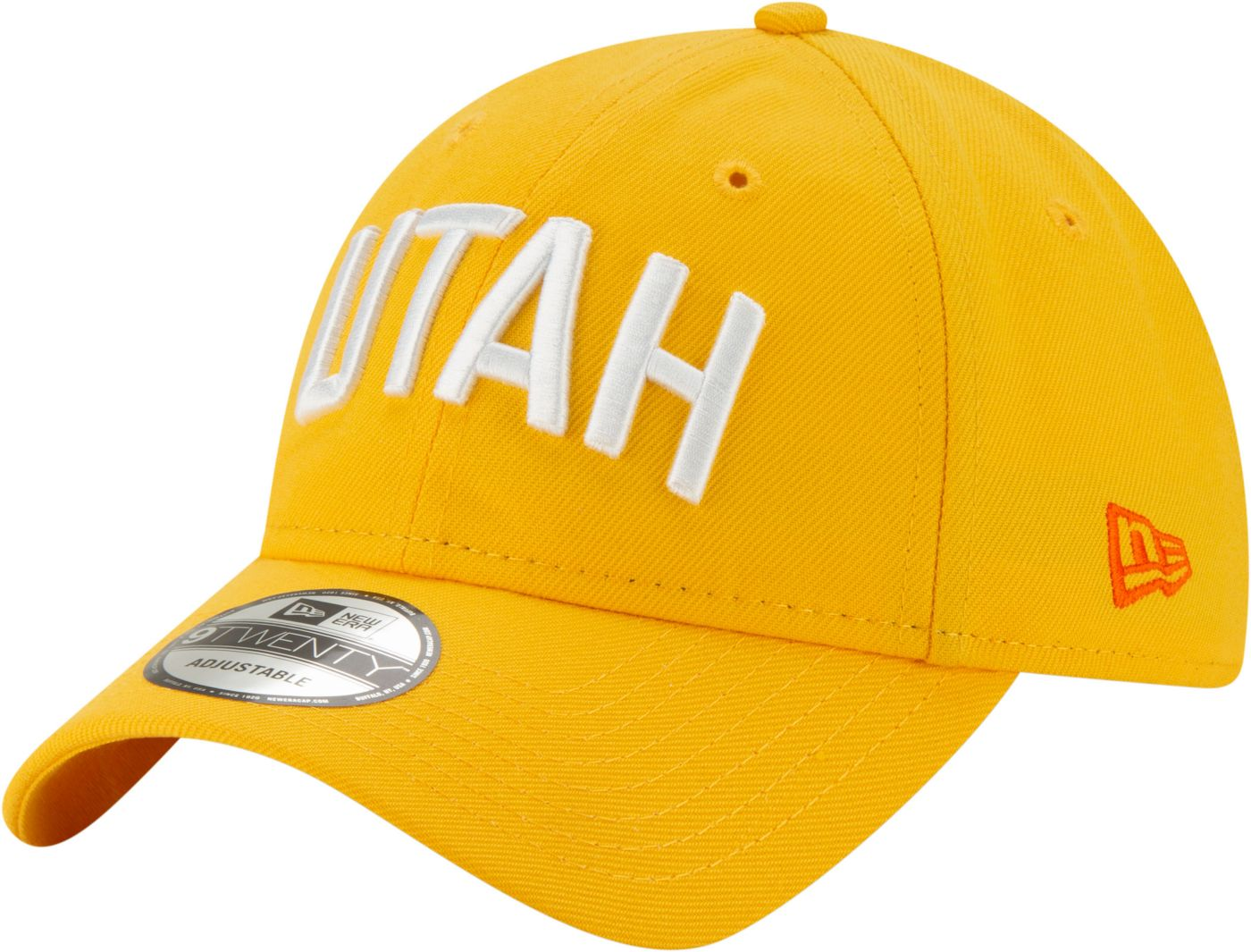 New Era Men's Utah Jazz 9Twenty City Edition Adjustable Hat