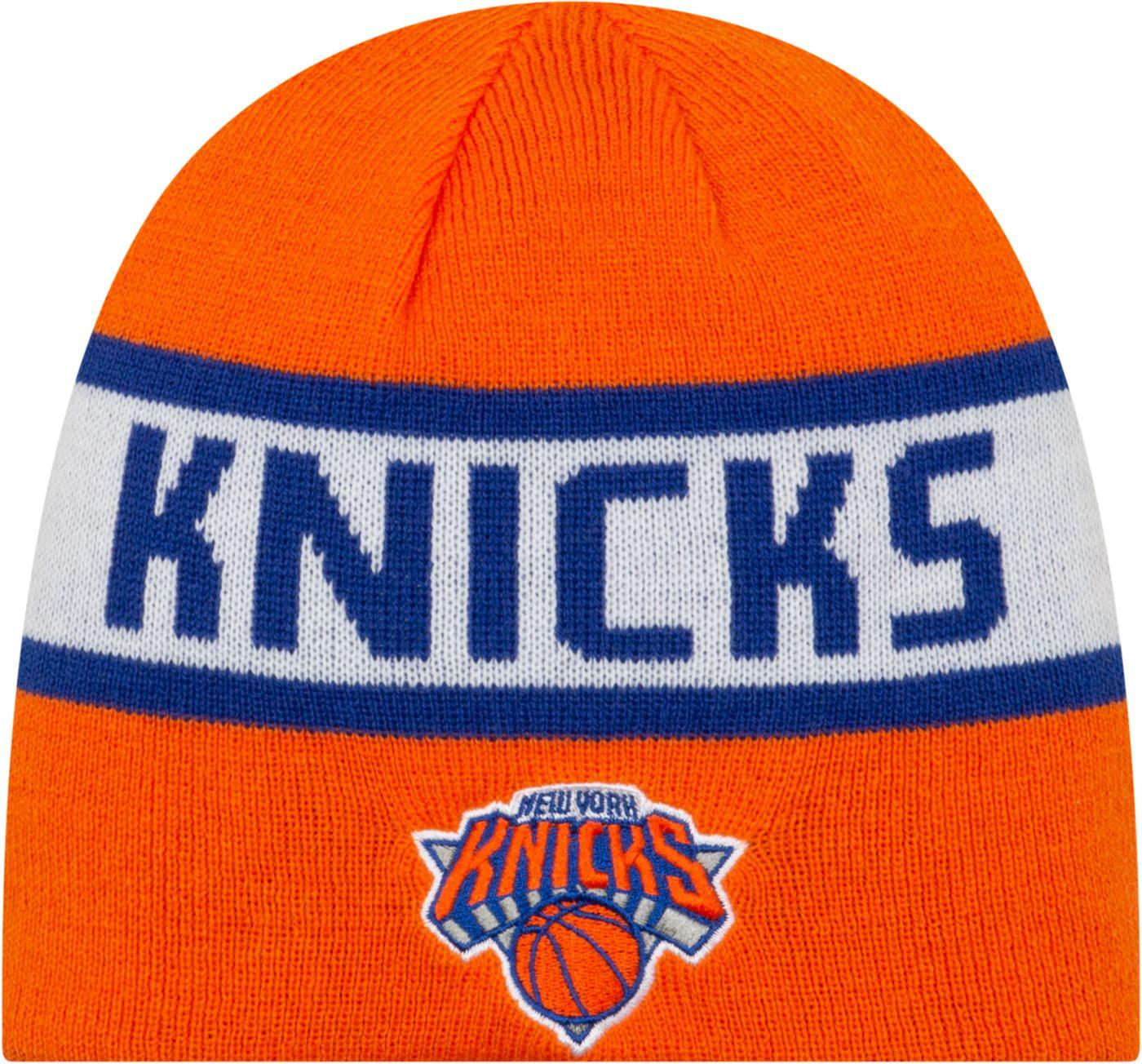 New Era Men's New York Knicks Reversible Sports Knit Hat