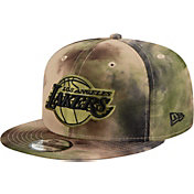 New Era Men's Los Angeles Lakers 9Fifty Camo Adjustable Snapback Hat