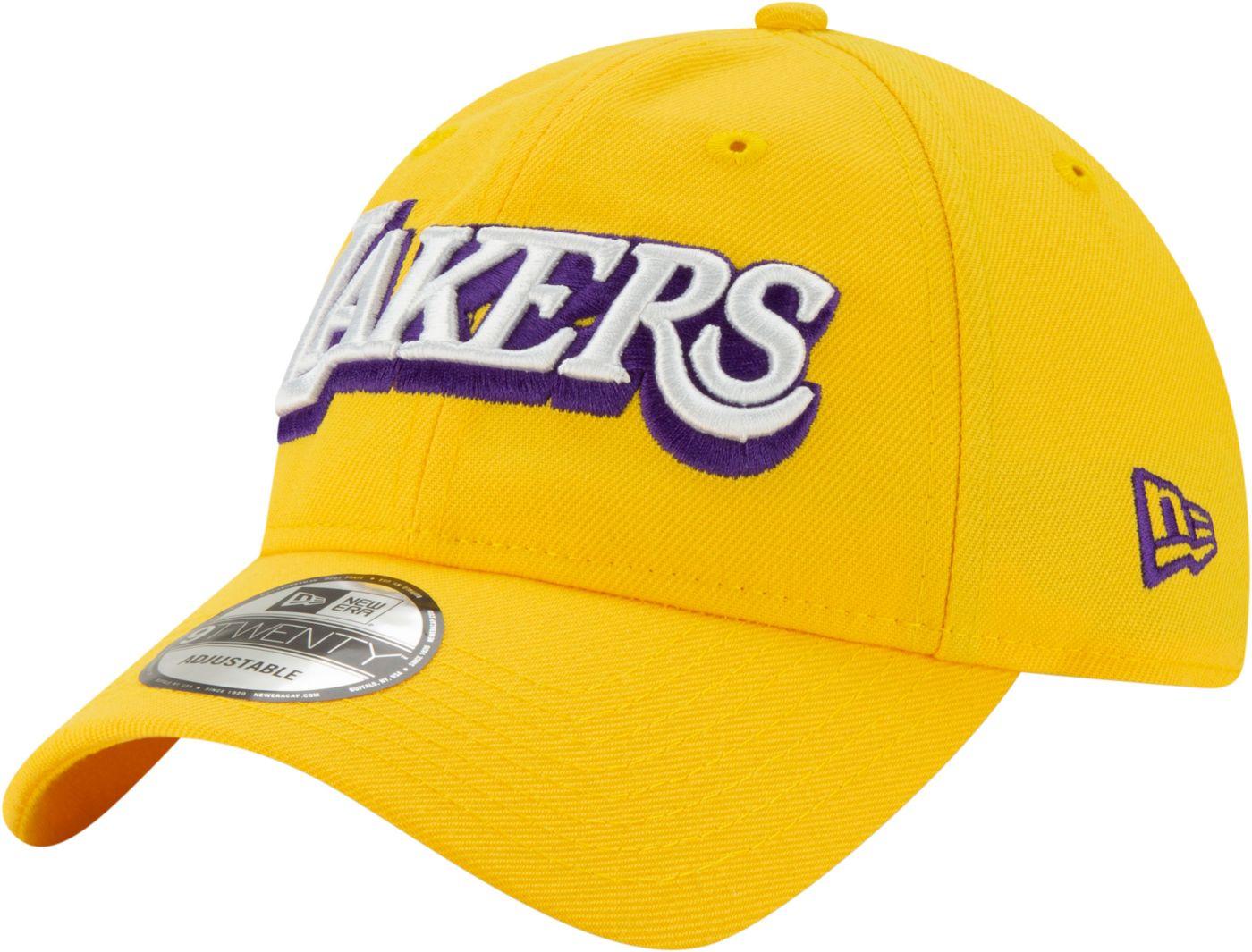 New Era Men's Los Angeles Lakers 9Twenty City Edition Adjustable Hat