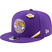 New Era Men's Los Angeles Lakers 2019 NBA Draft 9Fifty Adjustable Snapback Hat