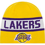 New Era Men's Los Angeles Lakers Reversible Sports Knit Hat