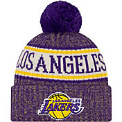 New Era Men's Los Angeles Lakers Sports Knit Hat