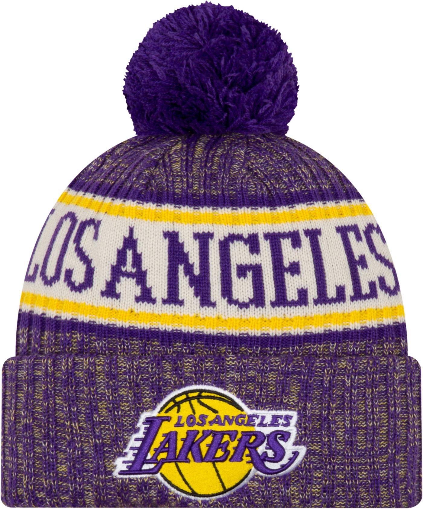 New Era Men's Los Angeles Lakers Sports Knit Hat