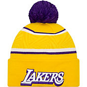 New Era Men's Los Angeles Lakers City Edition Knit Hat