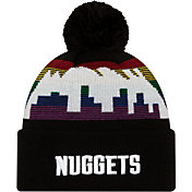 New Era Men's Denver Nuggets City Edition Knit Hat
