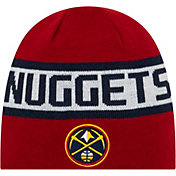 New Era Men's Denver Nuggets Reversible Sports Knit Hat