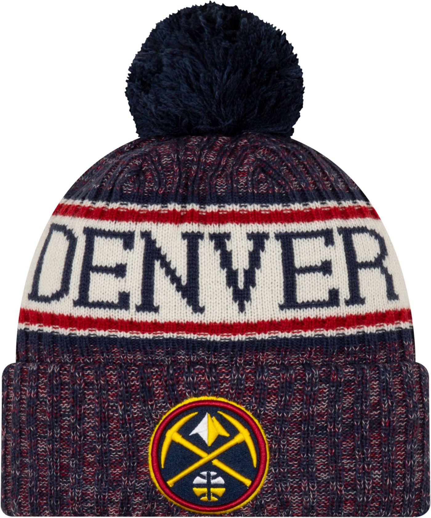 New Era Men's Denver Nuggets Sports Knit Hat