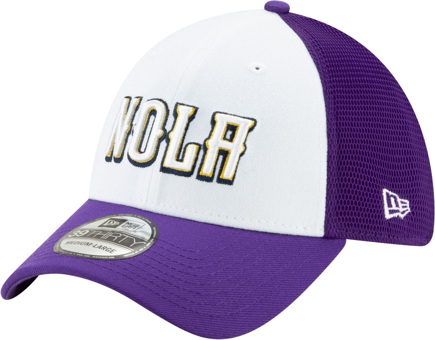 New Era Men's New Orleans Pelicans 39Thirty City Edition