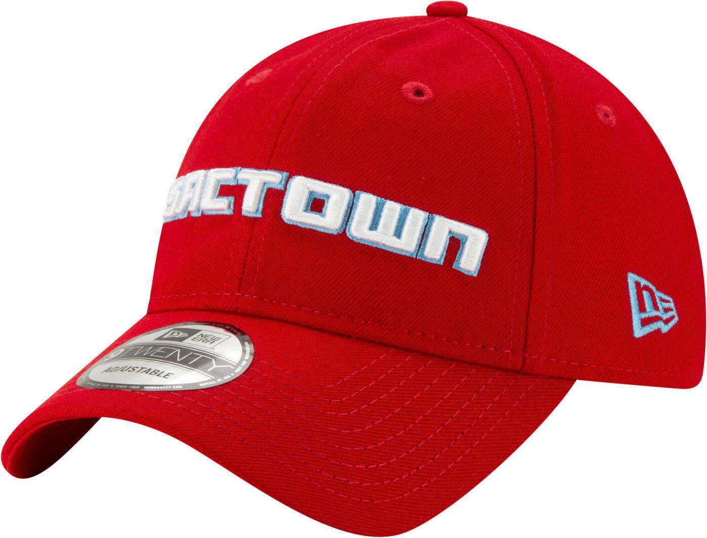 New Era Men's Detroit Pistons 9Twenty City Edition Adjustable Hat