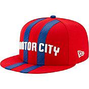 New Era Men's Detroit Pistons 9Fifty City Edition Adjustable Snapback Hat