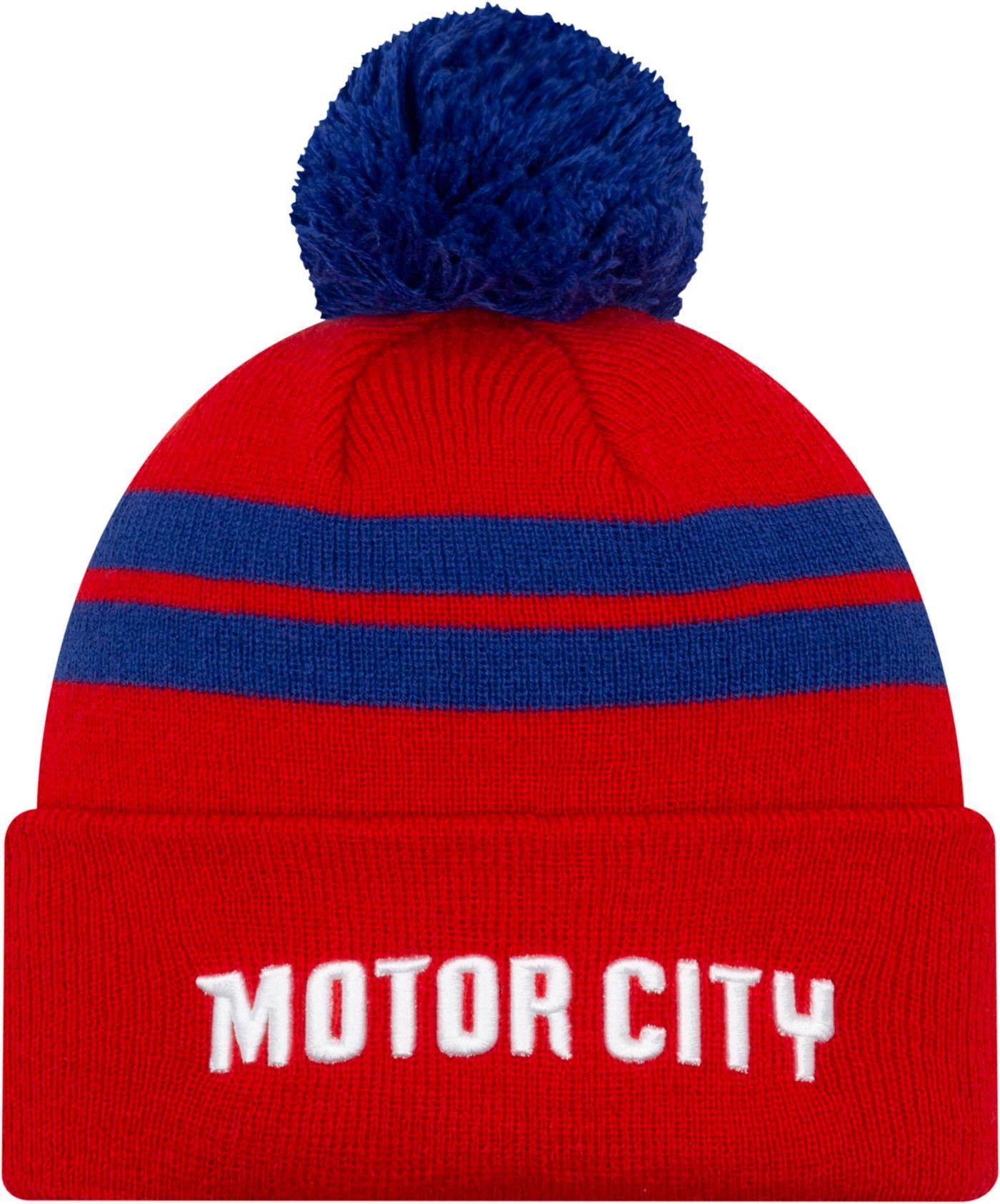 New Era Men's Detroit Pistons City Edition Knit Hat