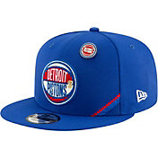 New Era Men's Detroit Pistons 2019 NBA Draft 9Fifty Adjustable Snapback Hat